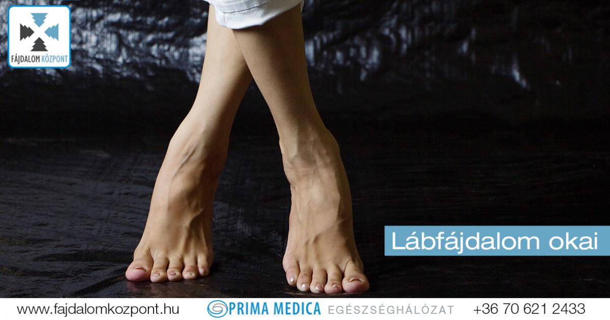 fájdalom a bal láb alsó ízületében