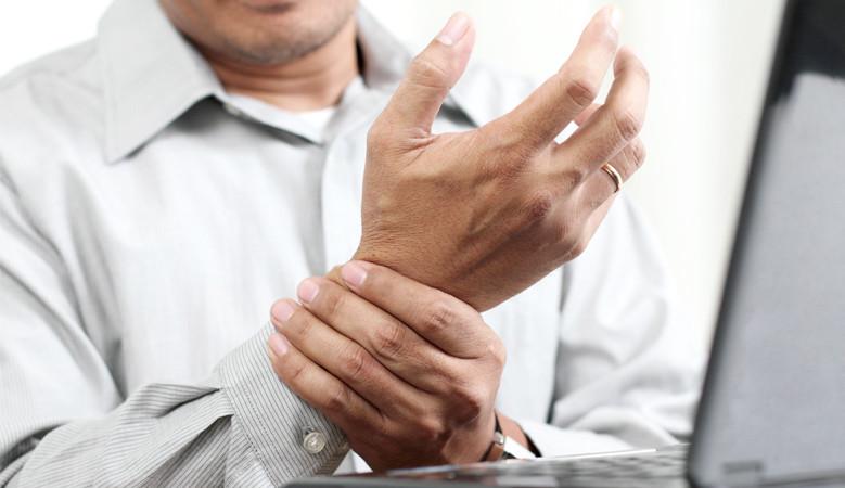 artrózis kezelő lámpa ízületi ropogások és fájdalom