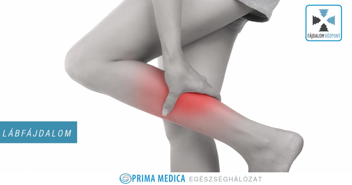 fájdalom a jobb láb alsó ízületében