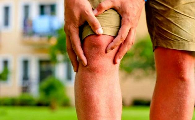 égő fájdalom a térd alatt ízületek ízületi fájdalma láz nélkül
