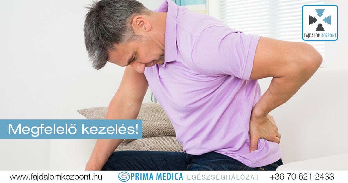tartós fájdalom az alsó hátán és az ízületekben